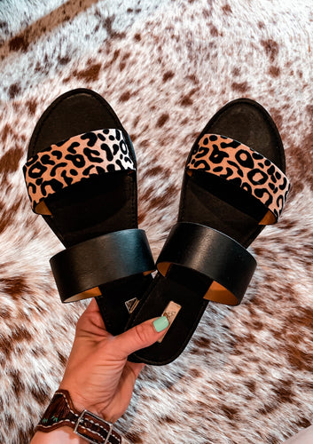 The Luling Leopard Sandals