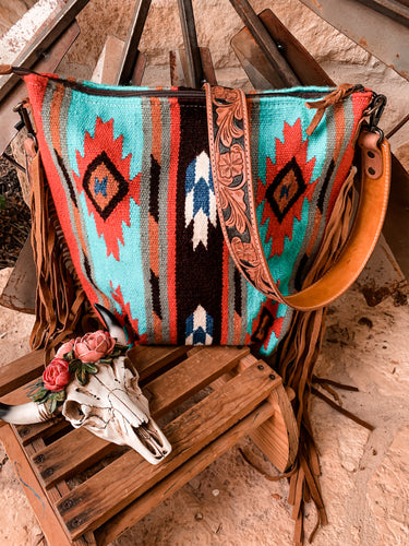 The Ole Frank Stillwell Saddle Blanket Purse