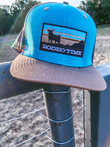 Rodeo Time Sunset Seminole Brown Flatbill