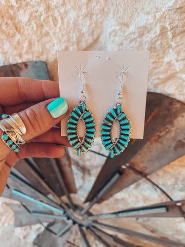 The Clovis Turquoise Earrings