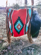 The Outlaw Bill Saddle Blanket Purse