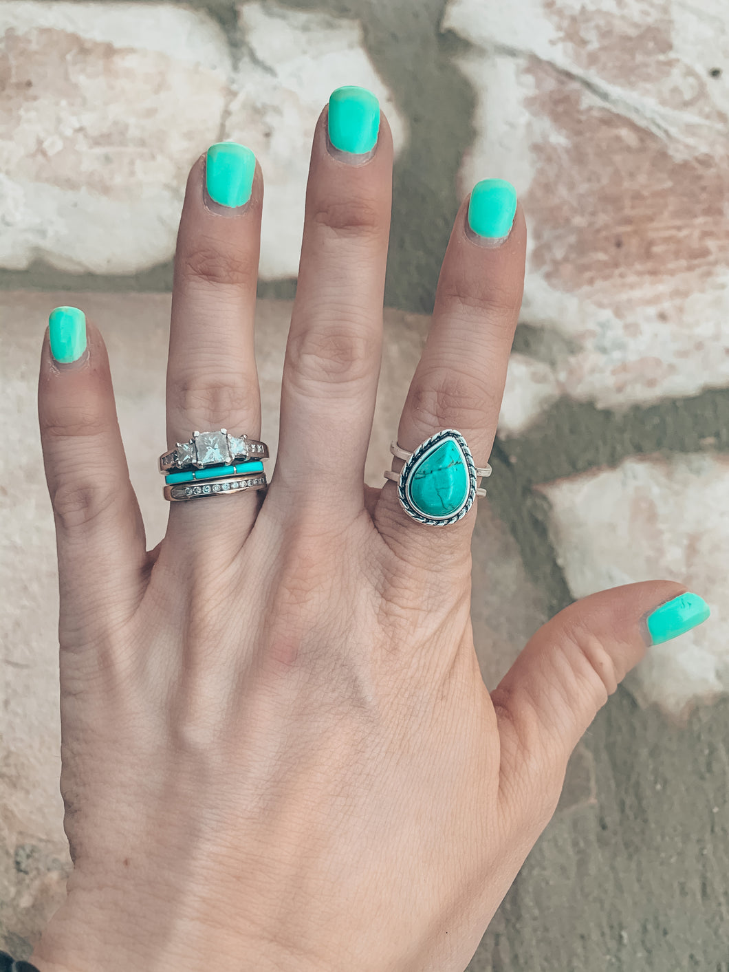 The Reese Turquoise Ring
