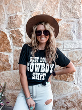 Load image into Gallery viewer, Busy Doing Cowboy Shit Tee (Black)
