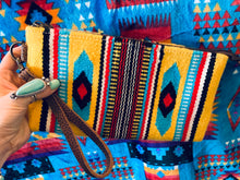 The Ole Little Bill Saddle Blanket Wristlet (Yellow)