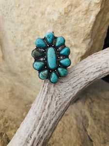 Butch Turquoise Ring