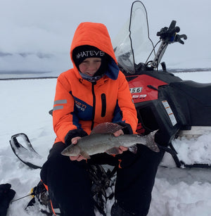 Pike and grayling icefishing - 2 days