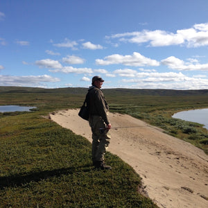 Fishing and hiking in roadless tundra