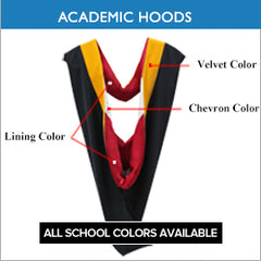 UK Academic Hoods - Bachelors & Masters Graduation Hoods