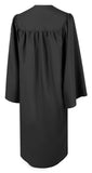 American Black Bachelors Graduation Gown - Graduation UK