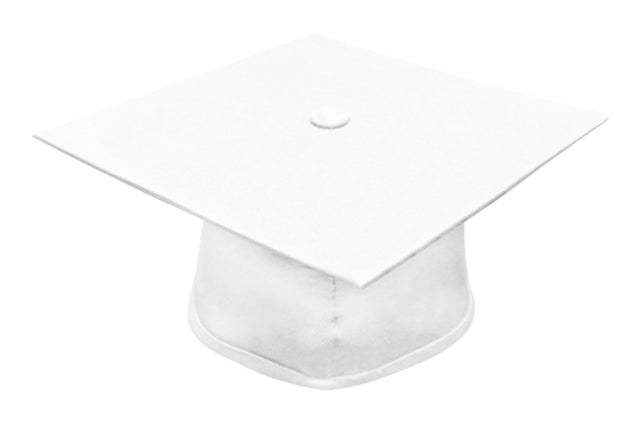 American White Bachelors Graduation Cap - Graduation UK