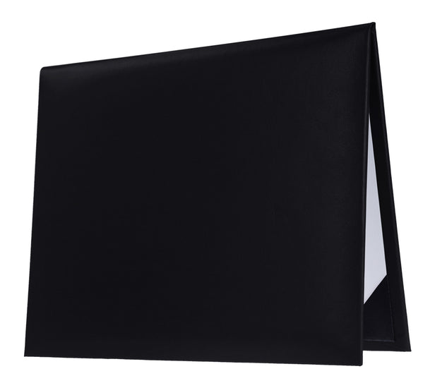 Black Graduation Diploma Cover - Graduation UK