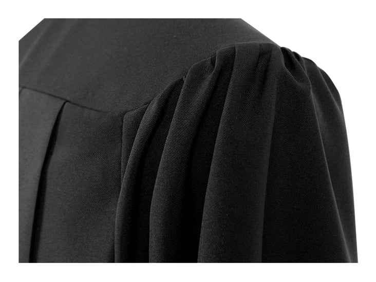Black Primary / Secondary Gown - Graduation UK