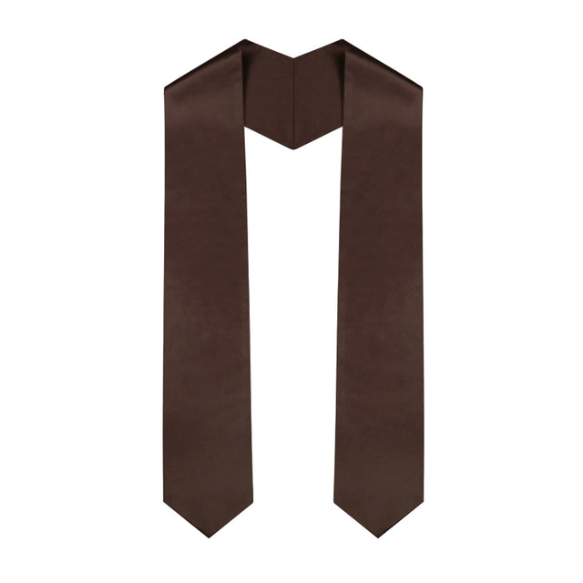 Brown Graduation Stole - Graduation UK
