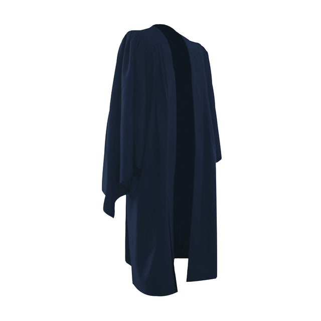 Classic Navy Bachelors Graduation Gown - UK University Gown - Graduation UK