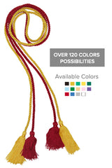 Double Graduation Honour Cords - Graduation UK