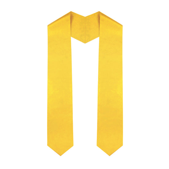 Gold Graduation Stole - Graduation UK