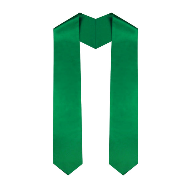 Green Graduation Stole - Graduation UK