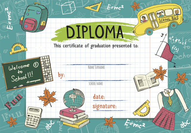 Childs Nursery Preschool Diploma