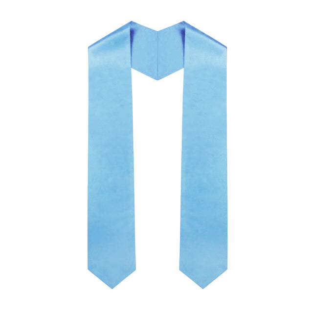 Light Blue Graduation Stole - Graduation UK