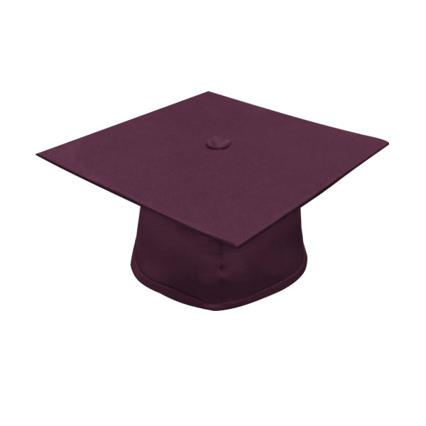 Maroon High School Cap - Graduation UK