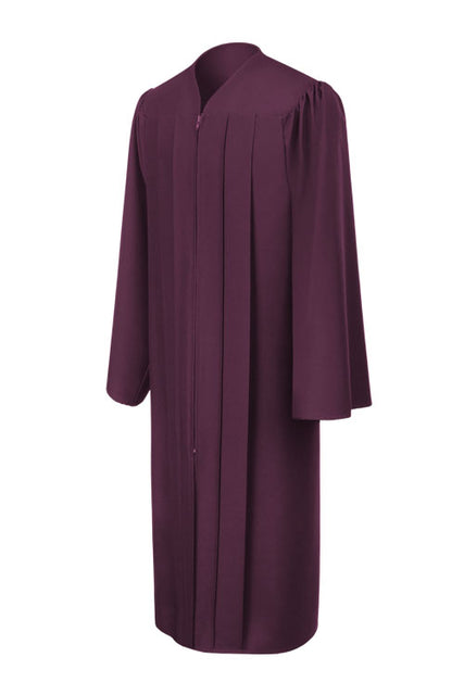 Maroon High School Graduation Gown - Graduation UK