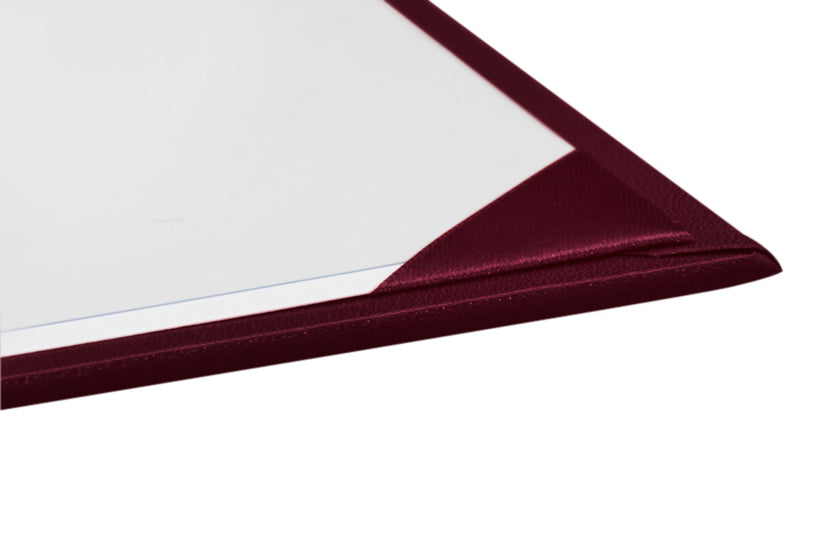 Maroon Imprinted University Diploma Cover - Graduation UK