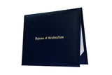Navy Blue Imprinted Childs Nursery Preschool Diploma Cover - Graduation UK