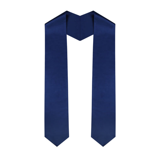 Navy Blue Graduation Stole - Graduation UK