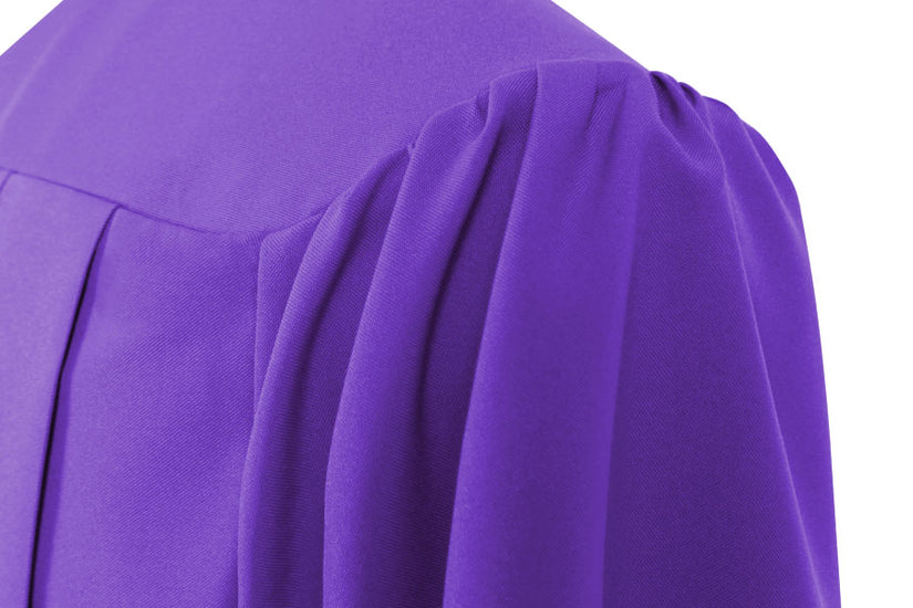 Purple High School Graduation Gown - Graduation UK