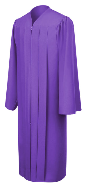 Purple Primary / Secondary Gown - Graduation UK