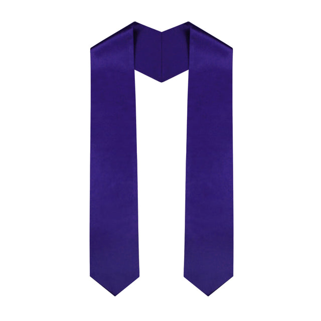 Purple Graduation Stole - Graduation UK