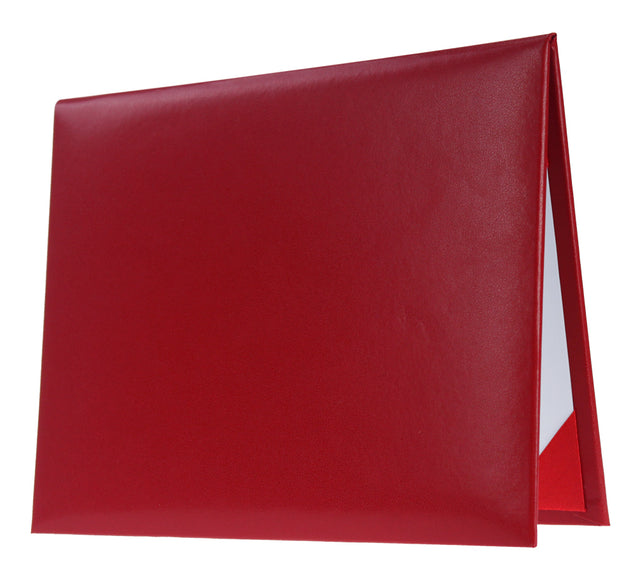 Red Graduation Diploma Cover - Graduation UK