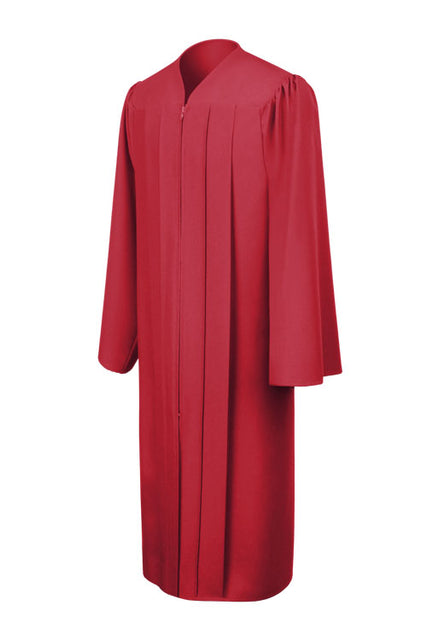 Red High School Graduation Gown - Graduation UK