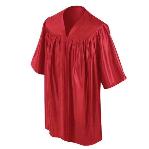 Red Childs Nursery Preschool Gown - Graduation UK