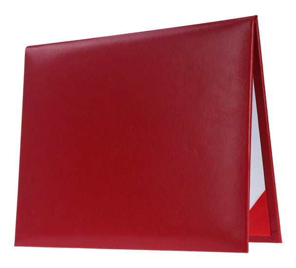 Red Primary / Secondary Diploma Cover - Graduation UK
