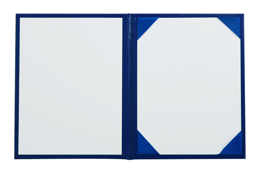 Royal Blue University Diploma Cover - Graduation UK