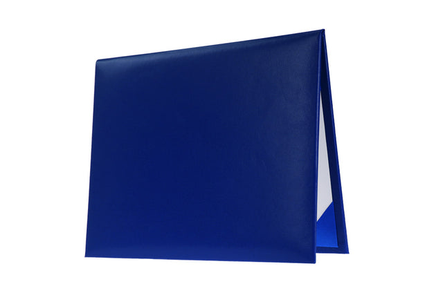 Royal Blue High School Diploma Cover - Graduation UK