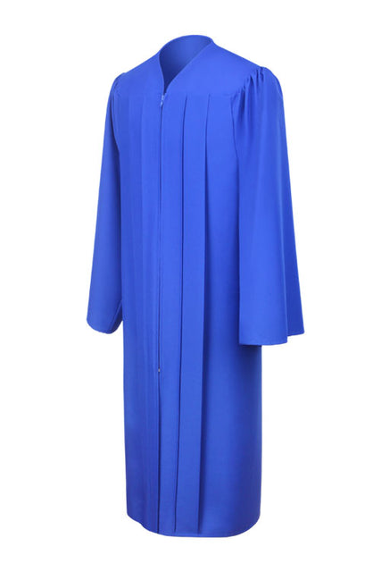 Royal Blue High School Graduation Gown - Graduation UK