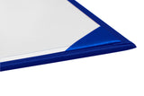 Royal Blue Imprinted High School Diploma Cover - Graduation UK