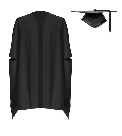 Classic Masters Graduation Mortarboard & Gown - Graduation UK