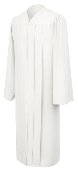 White Primary / Secondary Gown - Graduation UK