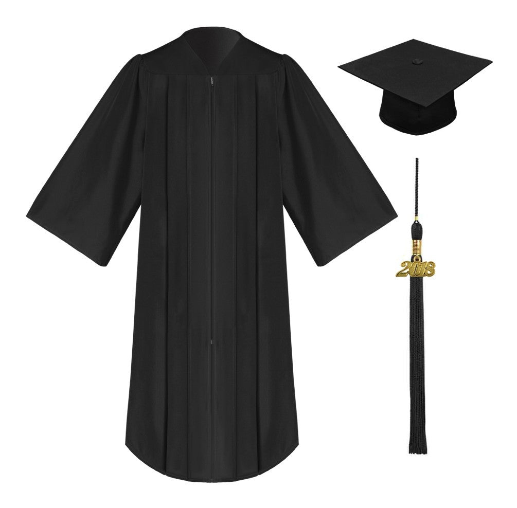 University Academic Graduation Gown and Hat BA Bachelor-UK new