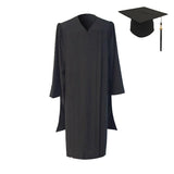 American Classic Black Masters Graduation Cap & Gown - Graduation UK
