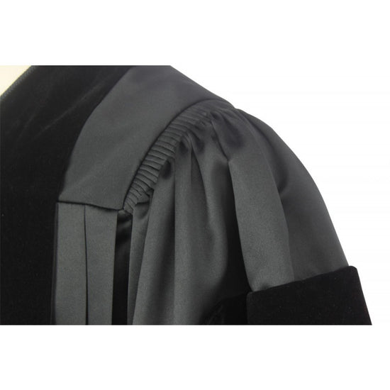 American Deluxe Doctoral Graduation Gown - Academic Regalia - Graduation UK