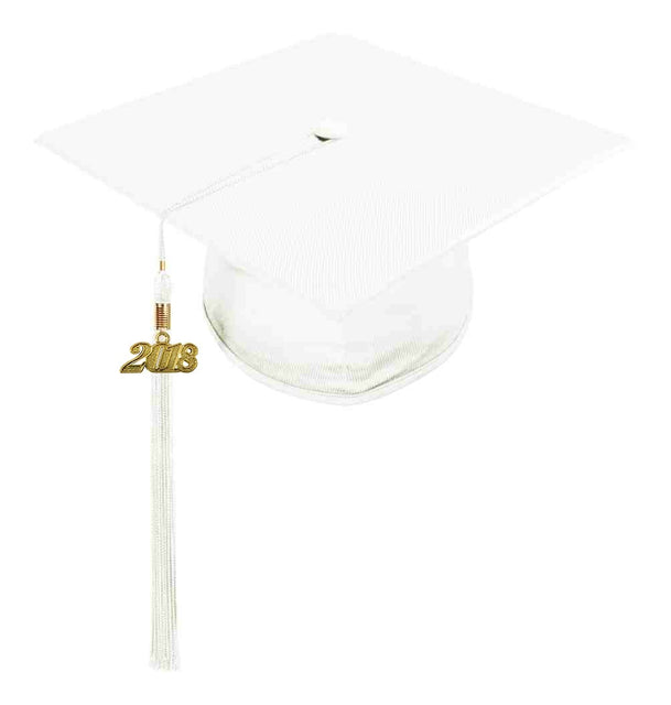 White Childs Nursery Preschool Cap & Tassel - Graduation UK