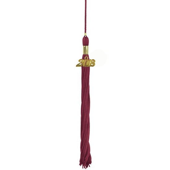 Maroon Primary / Secondary Tassel - Graduation UK