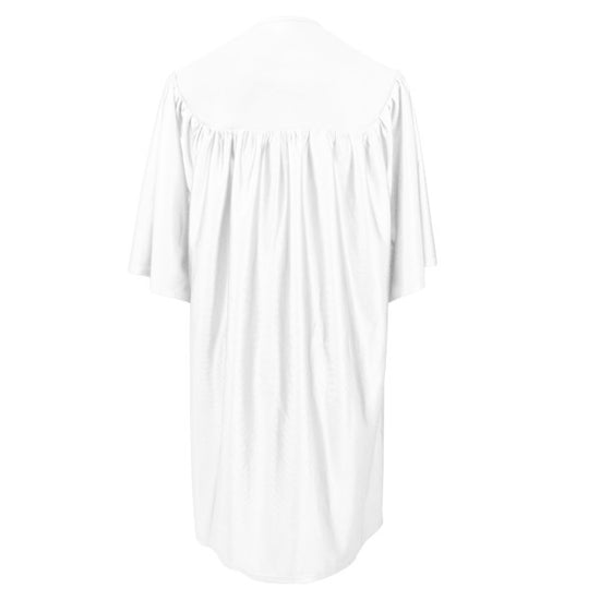 White Childs Nursery Preschool Cap and Gown - Graduation UK