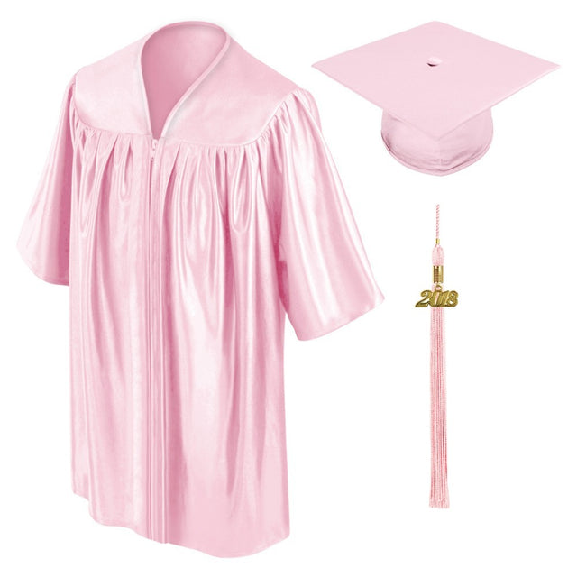 Pink Childs Nursery Preschool Cap and Gown - Graduation UK