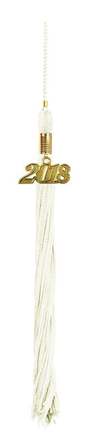 White High School Tassel - Graduation UK