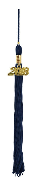 Navy Blue High School Tassel - Graduation UK